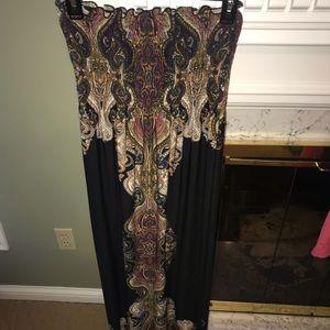 Long maxi dress (Jersey material)